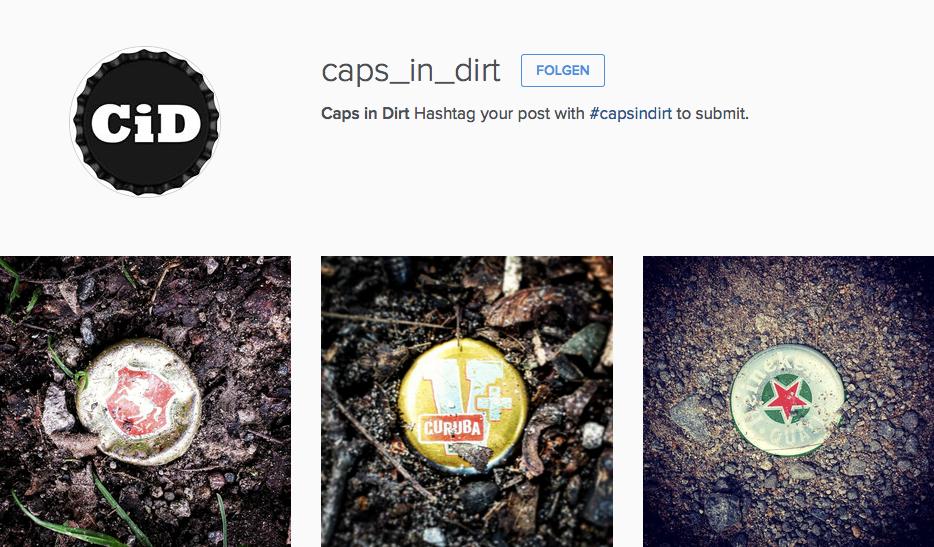 Caps in Dirt